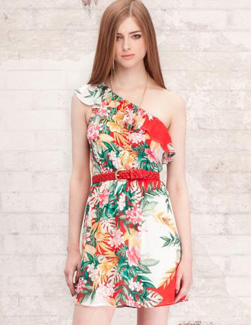 Vestidos de flores de verano