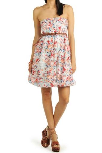 Vestido de verano con flores