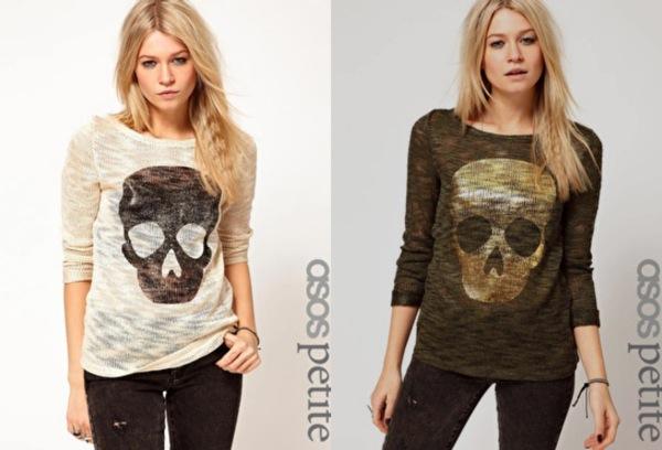 Camiseta calavera ASOS 25,97 € rebajada 15,58 €