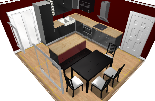 Aplicaci n para dise ar cocinas planifica tu propia for Programas para disenar cocinas en 3d