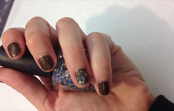 Minicure OPI nail bar Madrid