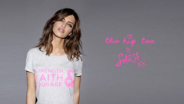 Camiseta solidaria Sara Carbonero