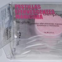 Pastillas efervescentes manicura Deliplus (Mercadona)
