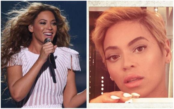 Antes/Ahora Beyoncé