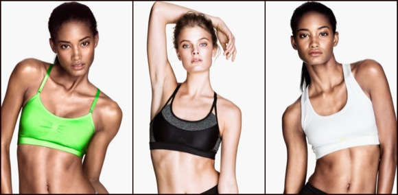 H&M sujetadores deportivos