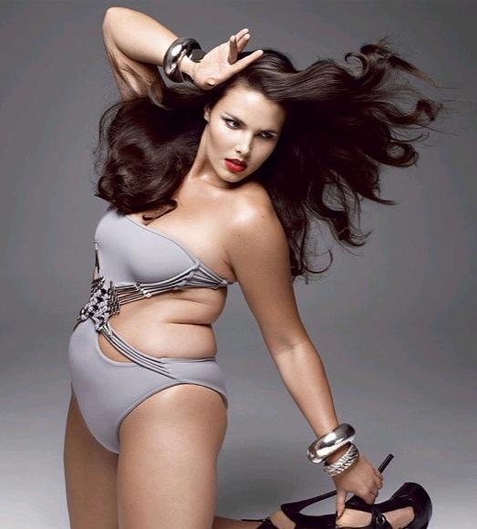 Candice Huffine modelo xl