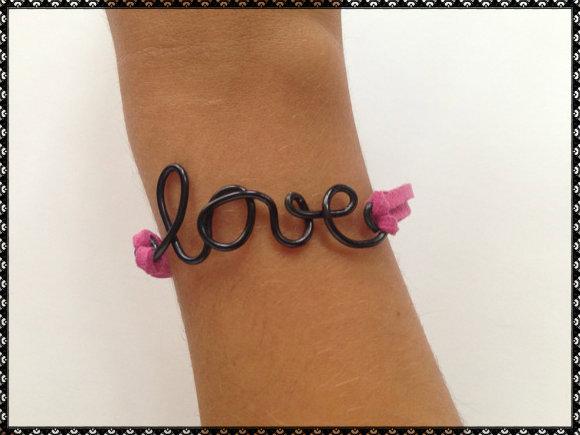 Pulsera Alambre Love