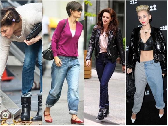 Amberd Heard, Katie Holmes, Kristen Stewart, Miley Cyrus