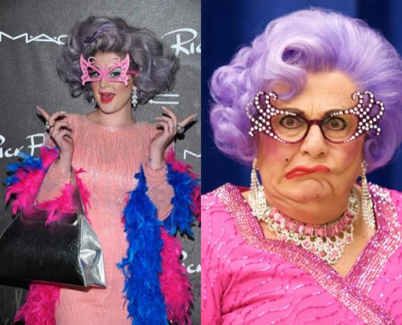 Kelly Osbourne es Dama Edna