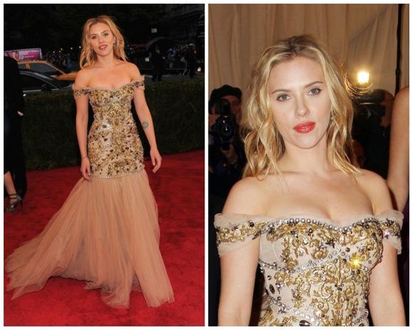 Gala MET 2012 Scarlett Johansson