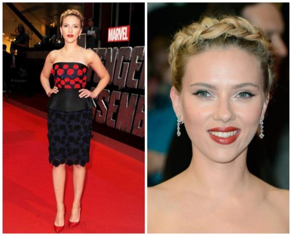 2012, Premier Vengadores en Londres, Scarlett