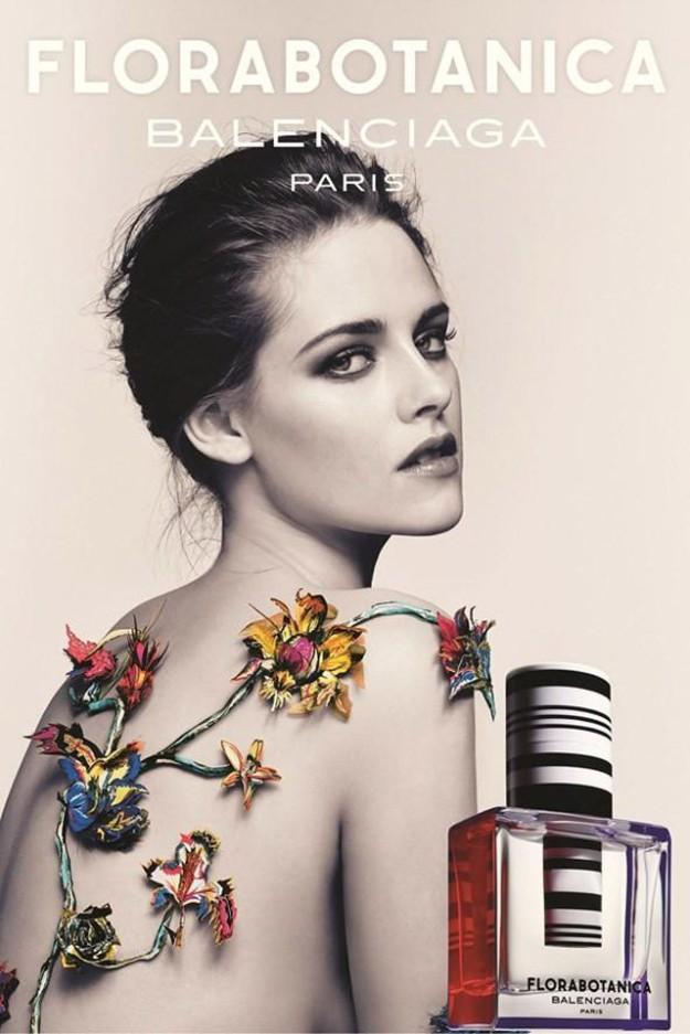 Kristen Stewart para Balenciaga - Rosabotánica
