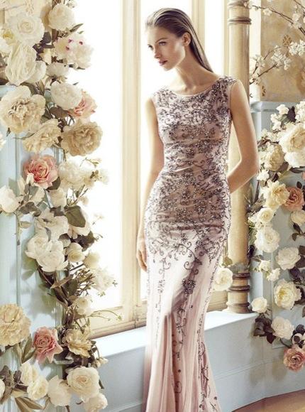 vestido largo invitada boda