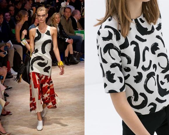 Celine vs Zara