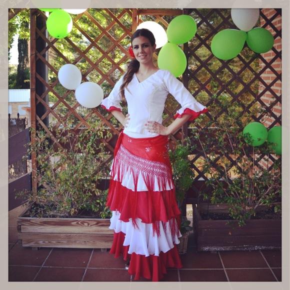 Maquillaje flamenca