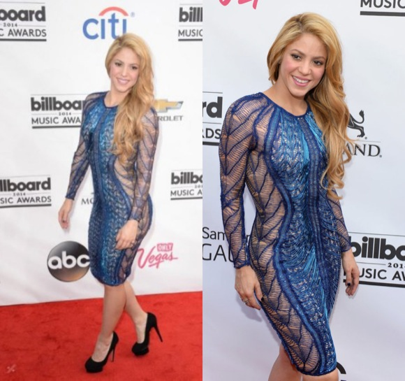 Shakira Billboards 2014
