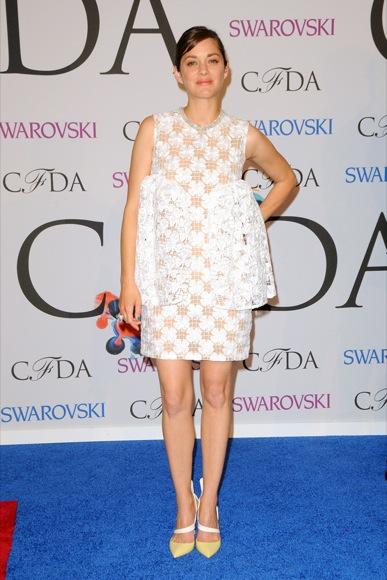 Marion Cotillard CFDA 2014