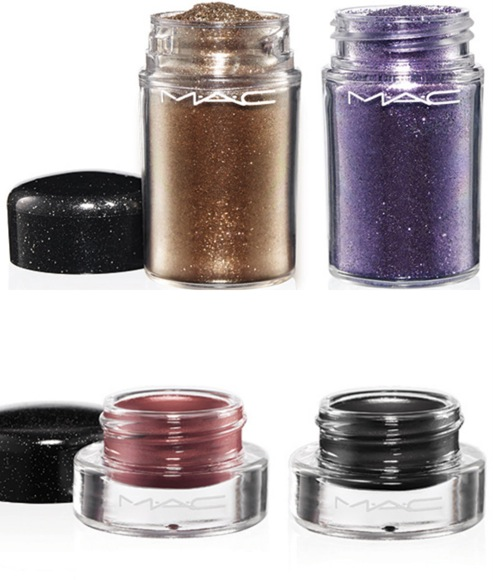 Fluid line y Glitter MAC Heirloom Mix Collection