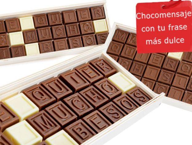 chocolate san valentin
