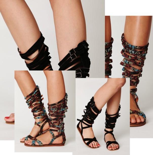 tendencias primavera 2015 sandalias romanas