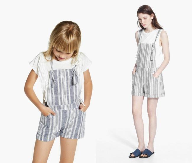 madres e hijas vestidas iguales