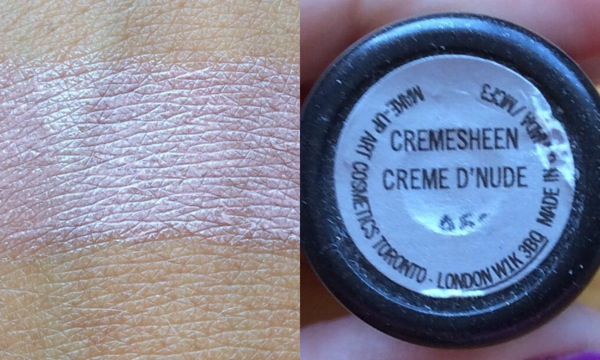 creem sheen nude mac
