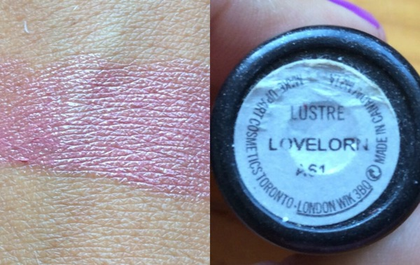 lustre lovelorn mac