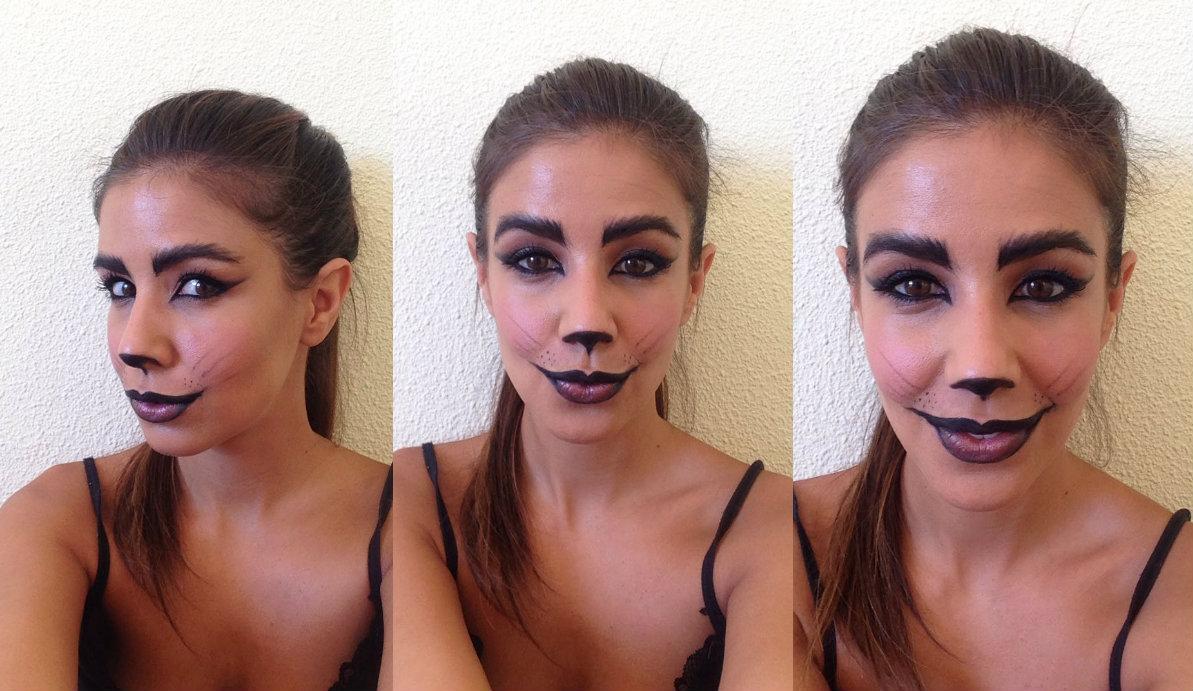 maquillaje gata halloween Modablogger