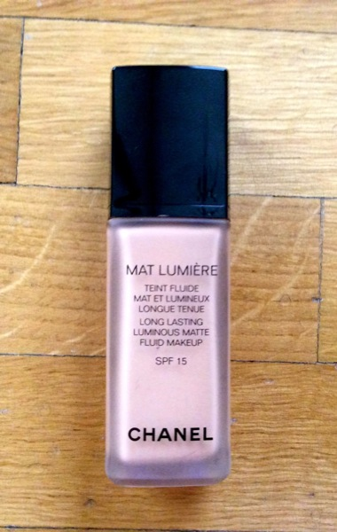 Mat Lumiere de Chanel
