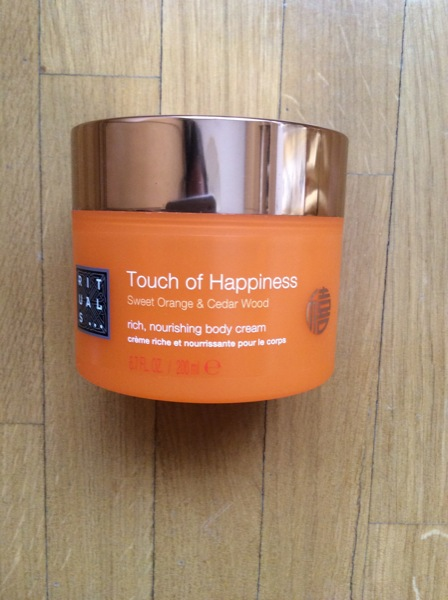Touch of Happiness crema rituals