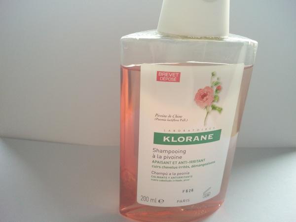 champu peonia klorane