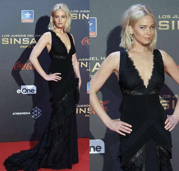 jennifer lawrence madrid sinsajo 2