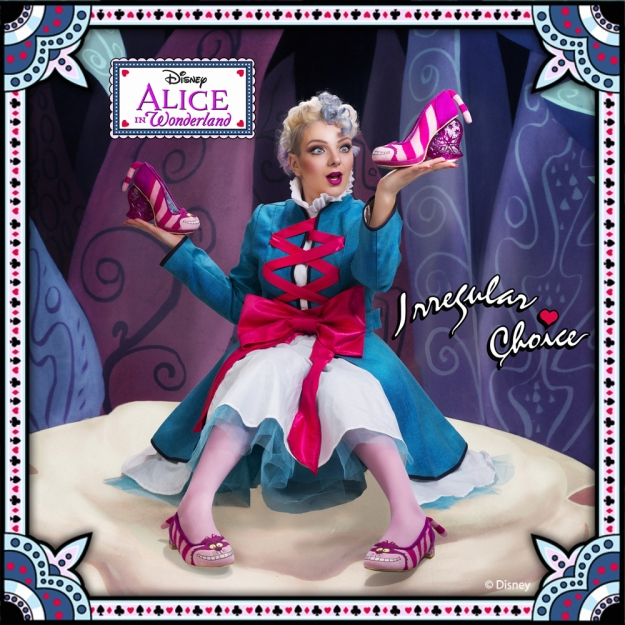 alice in wonderland irregular choice