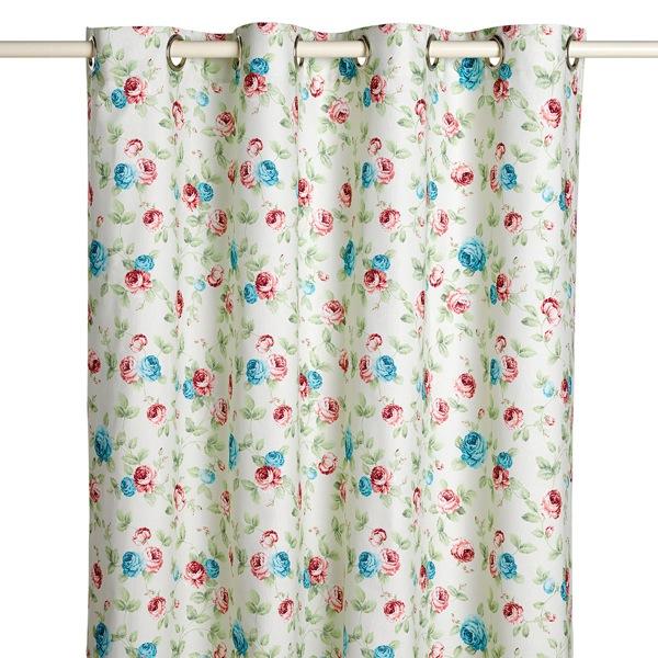 cortinas corte ingles flores