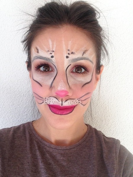 maquillaje conejita carnaval