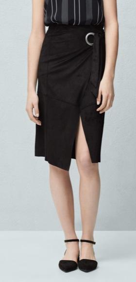 falda abertura