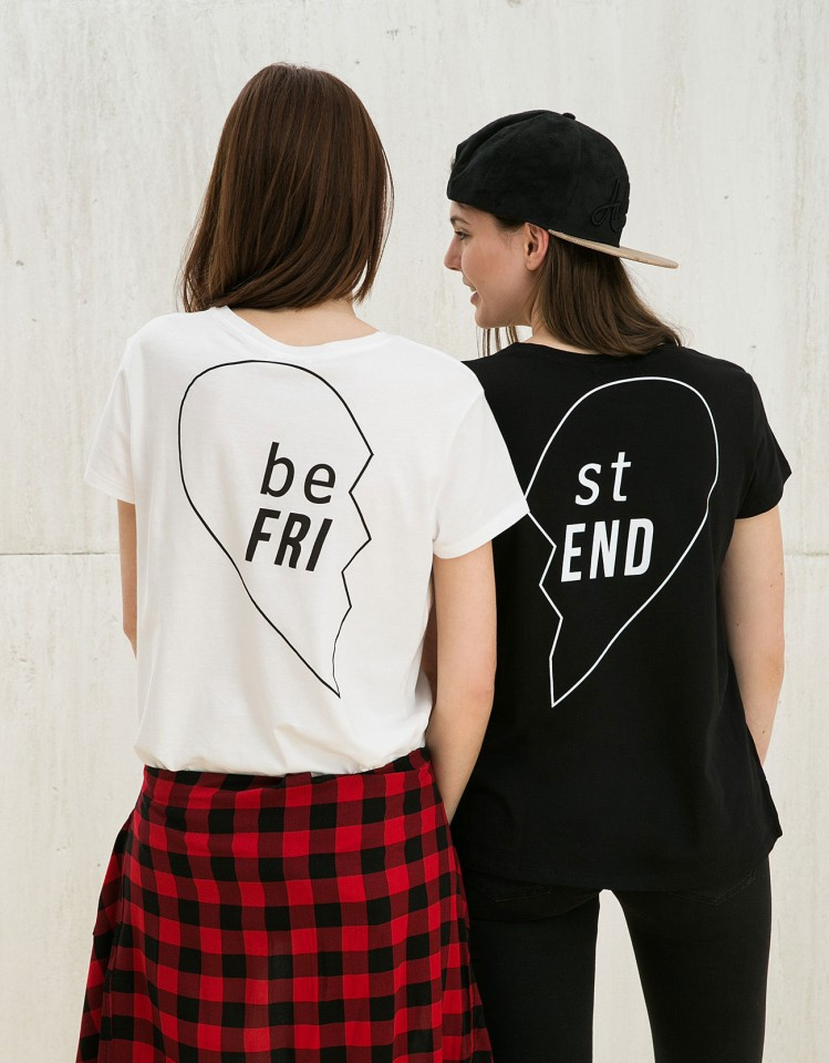 bershka best friends