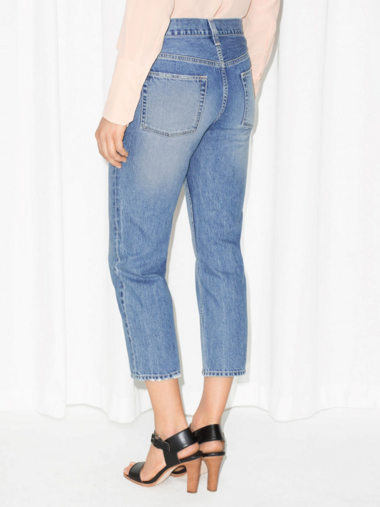 cropped jeans other stories