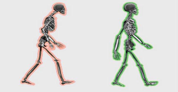 postura correcta caminar