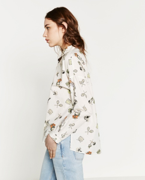 Zara estampada