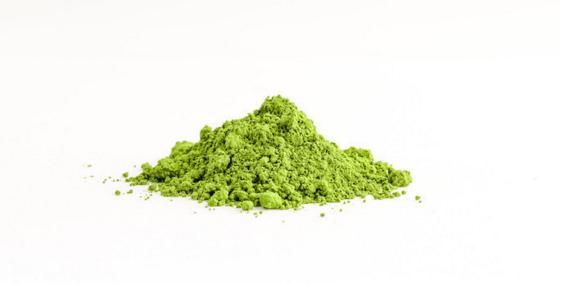 matcha te verde en polvo