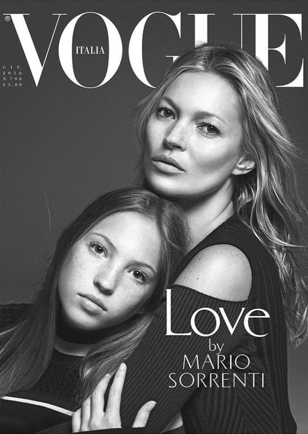 kate moss hija vogue