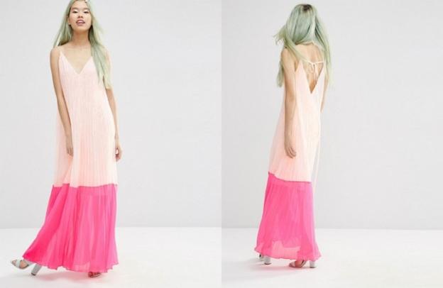 vestido largo asos