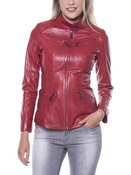 chaqueta-cuero-roja