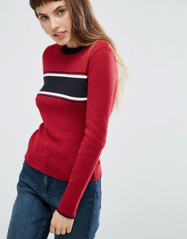 jersey rojo asos