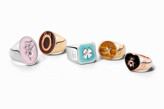 lucky dior sellos anillos