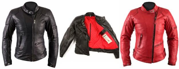 chaquetas moto mujer cuero