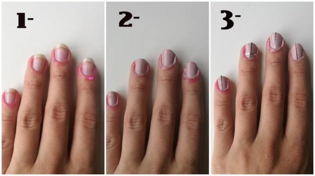 manicura nail mask