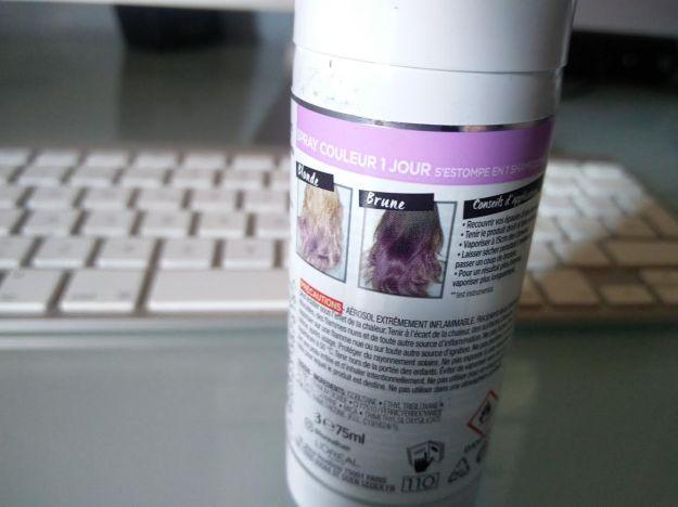 loreal colorista spray