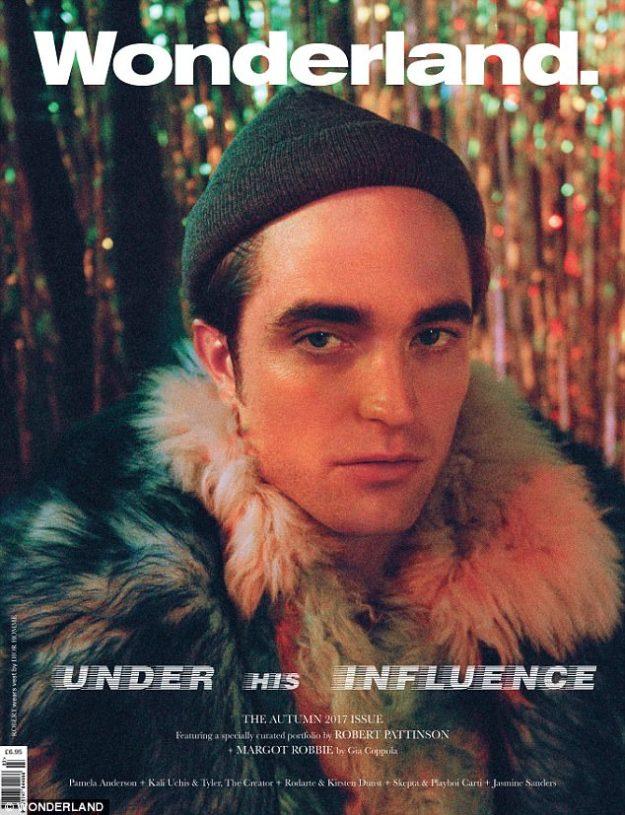 Robert Pattinson Wonderland Magazine
